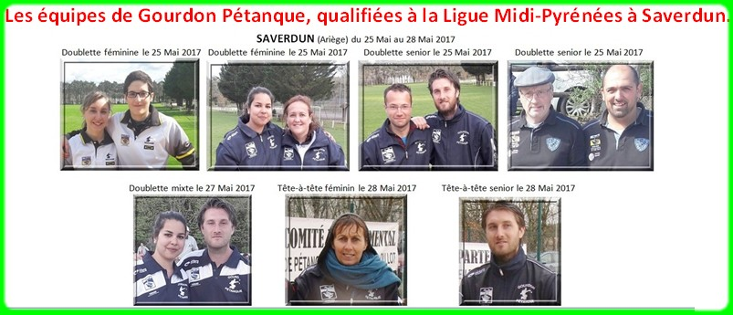 Ligue a saverdun equipes gourdon