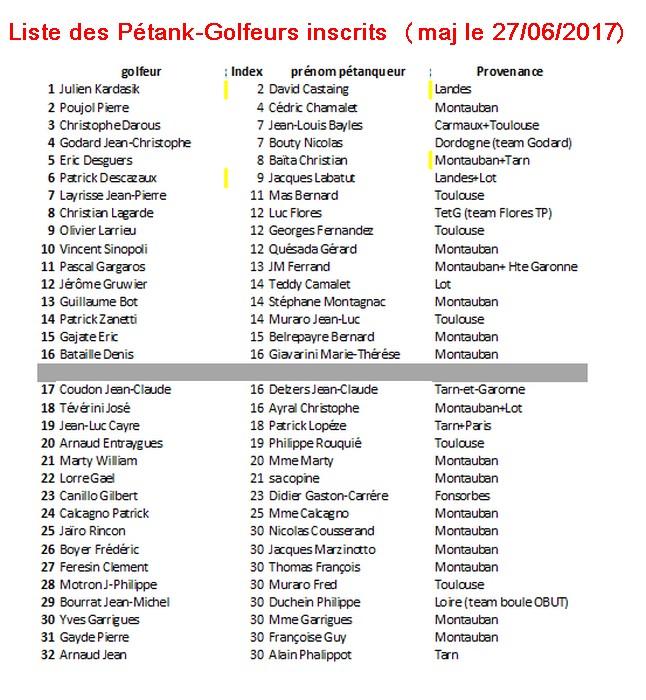 Liste inscrit petank golf6
