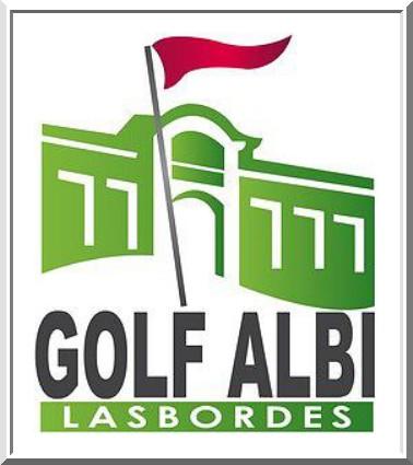 Logo golf albi-lasbordes sponsor pétank-golf