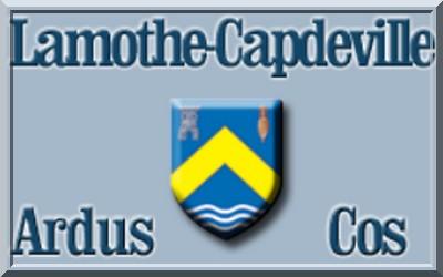 Logo lamothe-capdeville pétank-golf