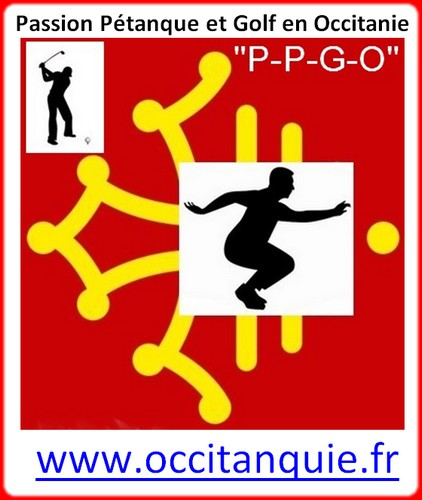 Logo occitanquie pétank-golf 2018