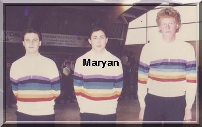 Maryan Barthélémy, Ferrazzola et Dumanois cdum 1989 pétank-golf