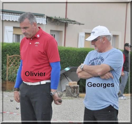 Olivier Larrieu Georges Fernandez pétank-golf
