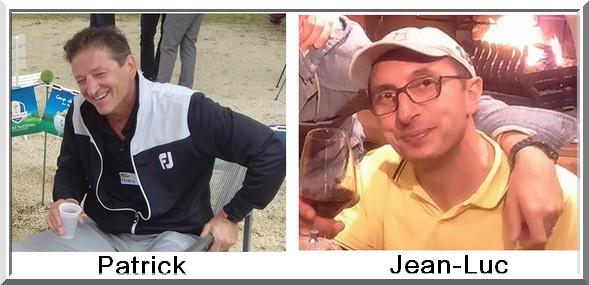 Patrick Zanetti et  jeanluc Muraro Pétank-Golf