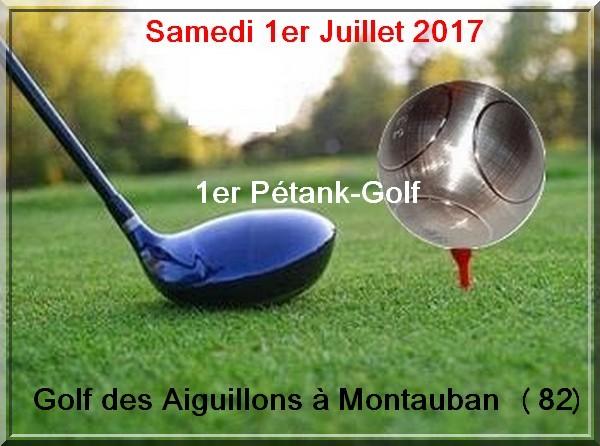 Petanque golf