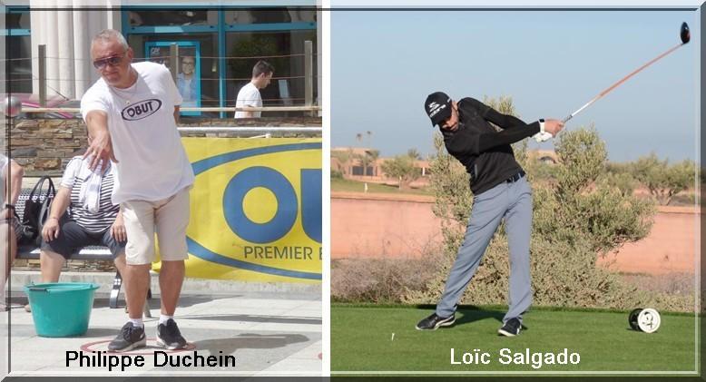 Philippe Duchein et Loïc Salgado pétank-golf 2018
