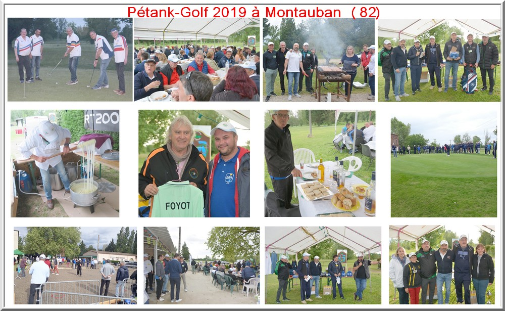 Photo montage Pétank-Golf 2019