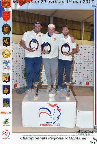 Podium champions ligue