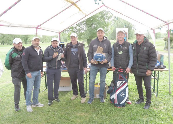 vainqueurs Pétank-golf 2019