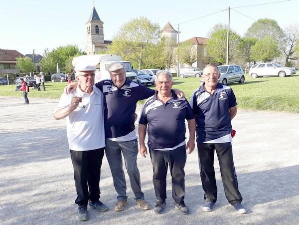 Qualif ligue veterans 2018 triplettes Foix