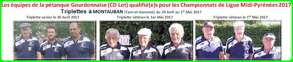 Qualifies ligue triplettes 2017 de gourdon