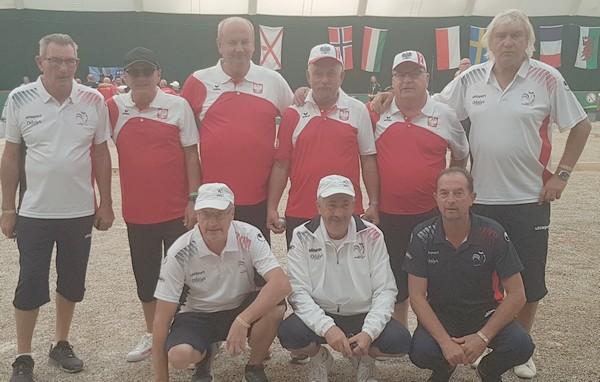 France Pologne 1/2 finale chpt europe 2019 vétérans