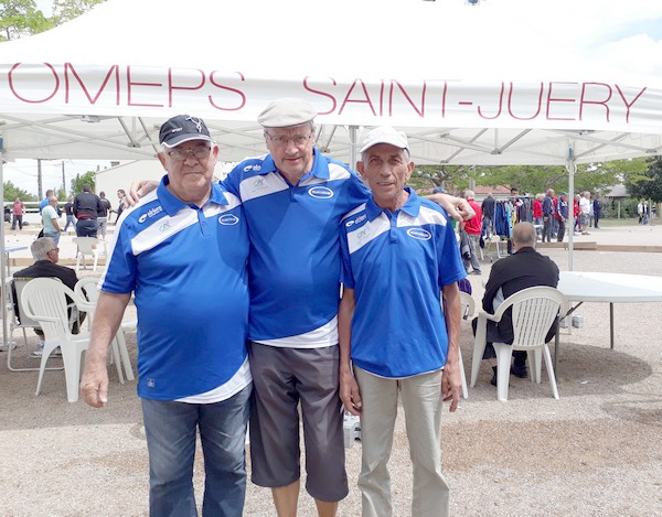 Les vainqueurs du national vétérans St juéry