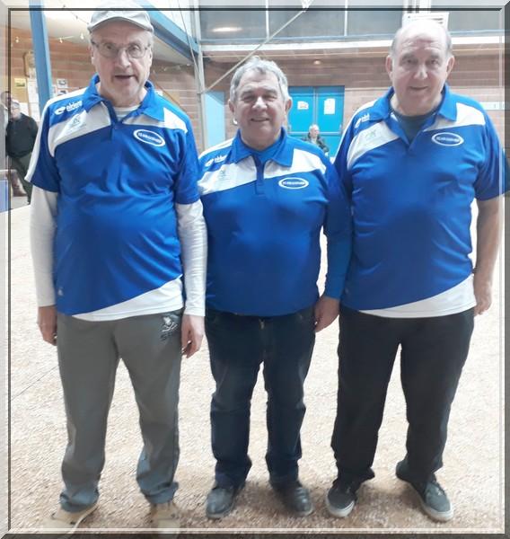 team-Godard vainqueurs du masters pétanque de Stjuery 2018