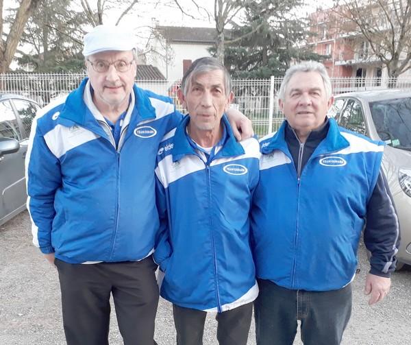Team godard masters albi madeleine pétanque