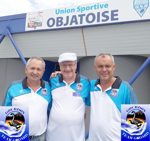 Team godard international objat 2019 pétanque