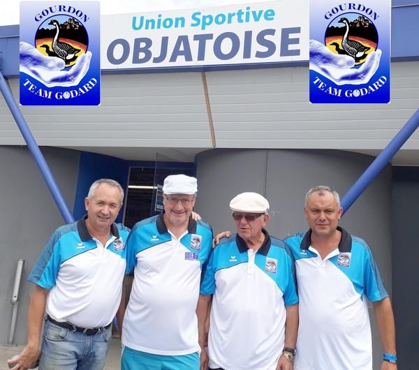 Team godard international pétanque objat