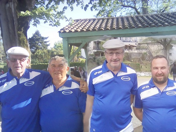 Team godard petank golf