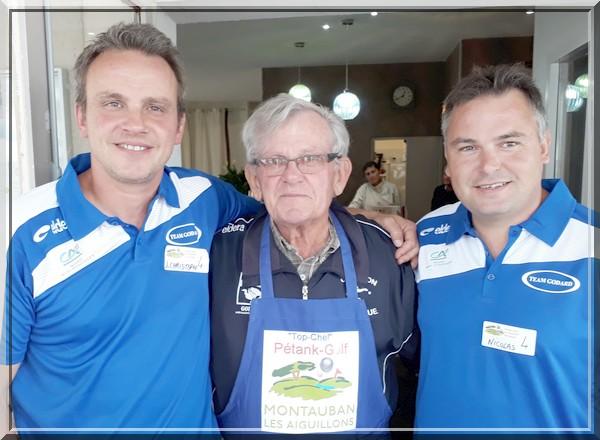 Alain Godard Top chef petank-Golf 2018