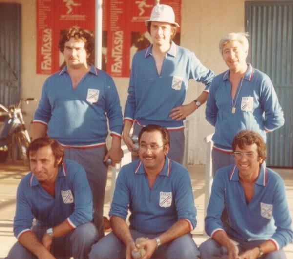 Championnat du Monde pétanque triplettes à Tunis 1983