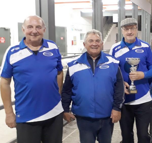 Vainqueurs masters pétanque asm 2018