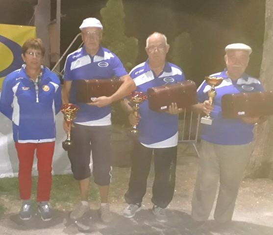 Vainqueurs USM Montauban 2017 pétanque