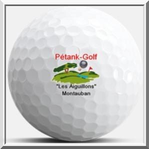 balle golf logo Pétank-Golf Montauban