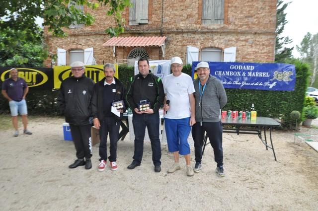 Les Montalbanais vainqueurs du golf 2ème série