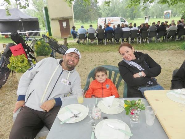 La famille Cortes, est venue de Montpellier, pour pétank-golfer