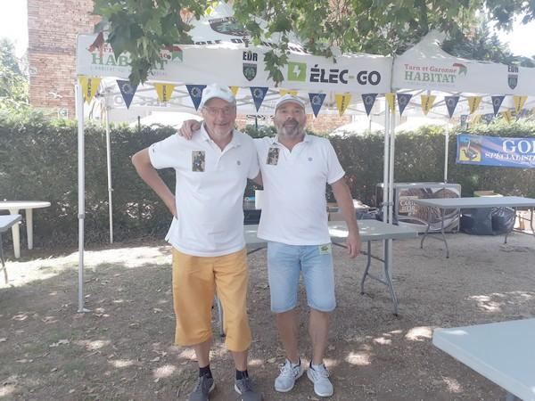 les organisateurs du Pétank-Golf 2021