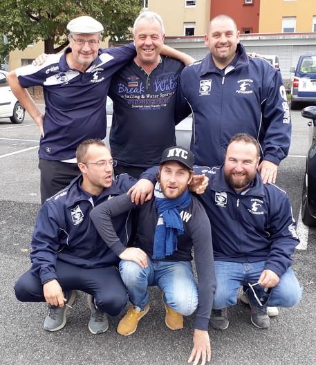 Cnc pau 2017 equipe