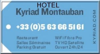 Logo kyriad MONTAUBAN