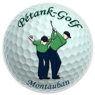 Logo pétank-golf
