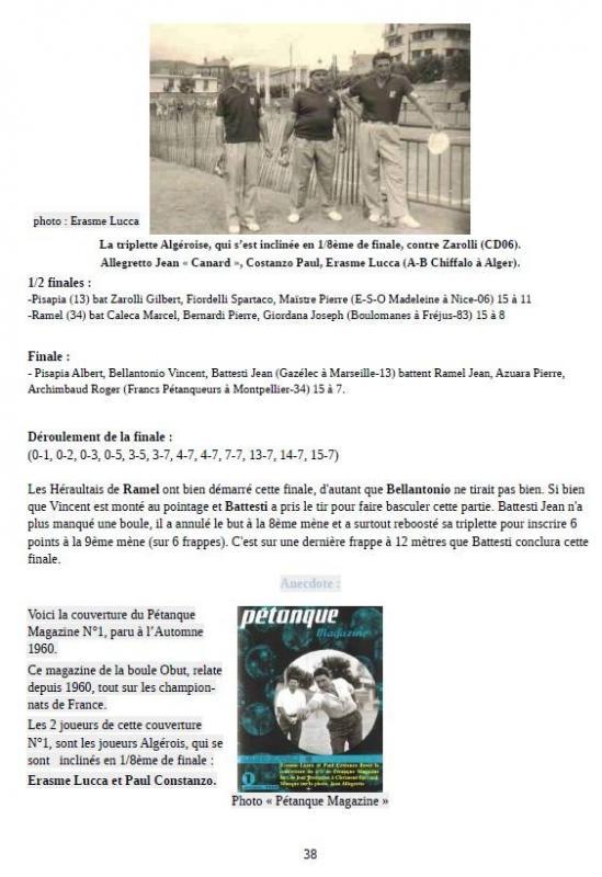 Page 2 chpt de France pétanque 1960