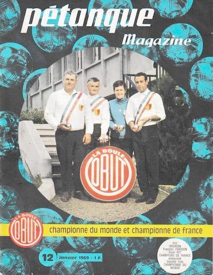 Petanque magazine 1968